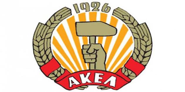 """AKEL'den """"Kıbrıslı Türklere destek"""""""