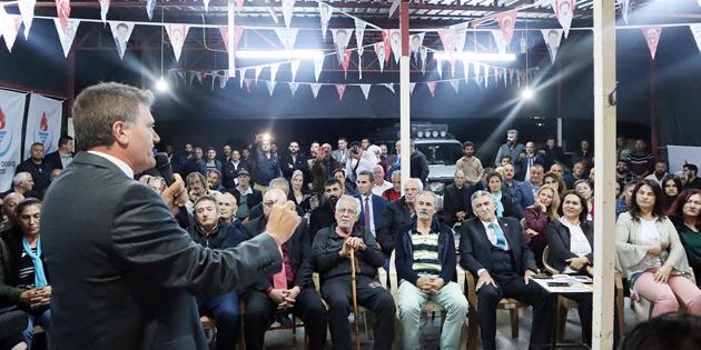 YDP İSTİŞARE TOPLANTISINI İSKELE'DE YAPTI