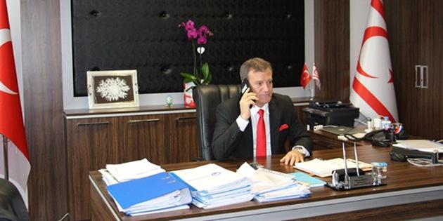 Arıklı, Türkiye Enerji Bakanı Dönmez ile görüştü