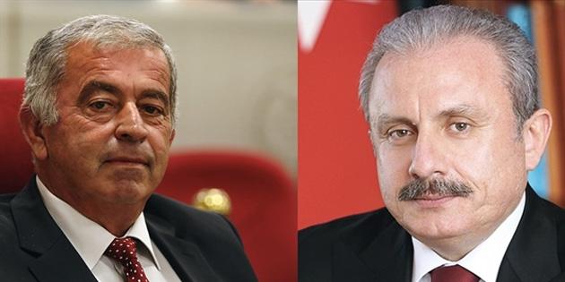 TBMM Başkanı Şentop, Cumhuriyet Meclisi Başkanlığına seçilen Sennaroğlu'nu kutladı
