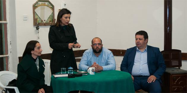 CTP Girne ilçe yöneticileri Taşkent sakinleriyle buluştu