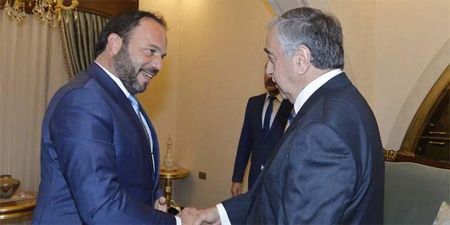 İskele Belediye Başkanı Sadıkoğlu'nu kabul etti