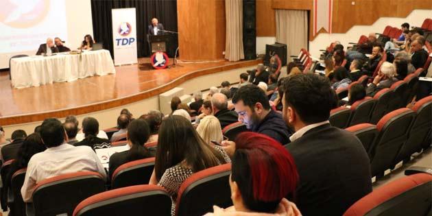 TDP tüzük kurultayı gerçekleştirildi