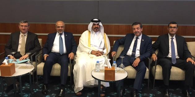 Dışişleri Bakanı Ertuğruloğlu Katar'da