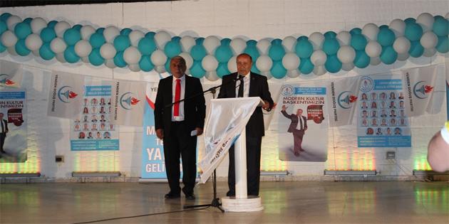 YDP, Lefkoşa'da aday tanıtım şöleni gerçekleştirdi