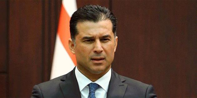 Başbakan Hüseyin Özgürgün 20 Temmuz Barış ve Özgürlük Bayramı mesajı yayımladı