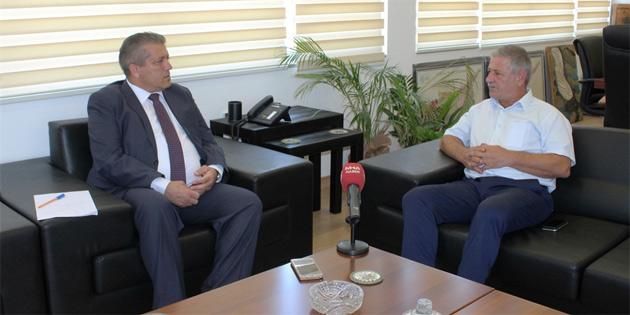 Arter, Müteahhitler Birliği Başkanı Gürcafer ile görüştü
