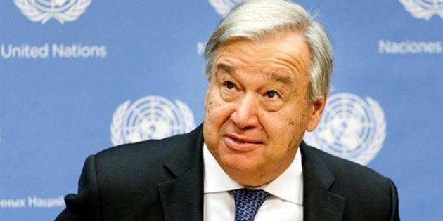 Guterres: Kapsamlı müzakerler için taraflar hızlı şekilde referans kavramları üzerinde anlaşmaya varmalı
