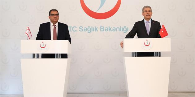 Sağlık Bakanı Faiz Sucuoğlu'nun Ankara temasları