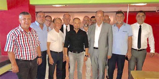 UBP Milletvekili ve Başkan adayı Tatar İşadamları Derneği ile buluştu