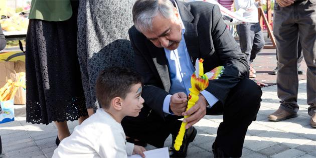 Cumhurbaşkanı Akıncı kitap okuma etkinliğine katıldı