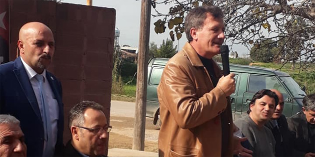 YDP Gazimağusa'da kahvaltı düzenledi, örgüt binası açtı
