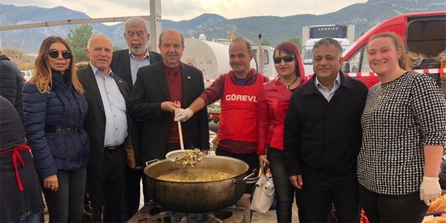 """Tatar, """"Geleneksel Hamsi Festivali""""nde konuştu"""
