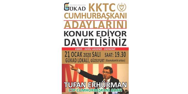 """GÜKAD Cumhurbaşkanlığı seçimine yönelik """"Söyleşi"""" programları düzenliyor"""