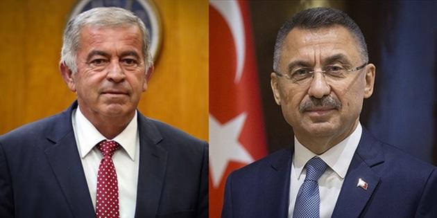 Türkiye Cumhurbaşkanı Yardımcısı Oktay'dan, Sennaroğlu'na kutlama mesajı