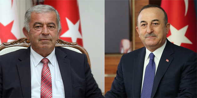 Türkiye Dışişleri Bakanı Çavuşoğlu, Meclis Başkanı Sennaroğlu'nu kutladı