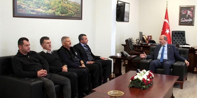 """Tatar: """"Önemli olan KKTC'nin istikrarını korumak'"""