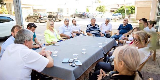 Eroğlu, bazı sivil toplum örgütlerini ziyaret etti