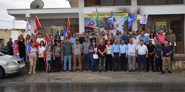 Ethem Akmercan Türkmenköy'ü ziyaret etti