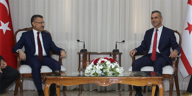 Oktay Meclis Başkanı Uluçay'ı ziyaret etti