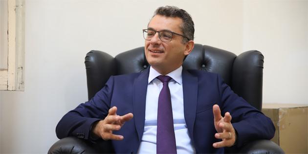 CTP Genel Başkanı Erhürman TAK'a konuştu