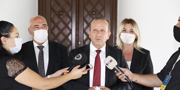 Tatar, Ataoğlu ve partinin bazı yetkililerini kabul etti