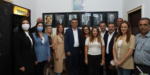 CTP Ortaköy Ocak Örgütü binası açıldı