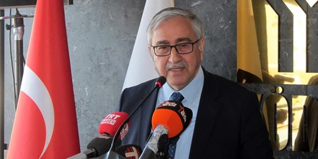 """Akıncı: """"Bilim diplomasisine en fazla ihtiyaç duyulan alan Doğu Akdeniz"""""""