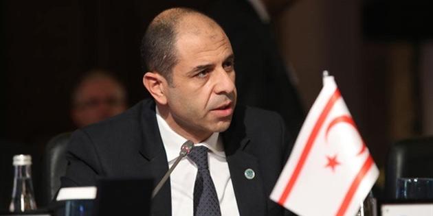 """Özersay: """"Doğu Akdeniz'deki kaynaklar ekonomimiz için kritik önemdedir"""""""