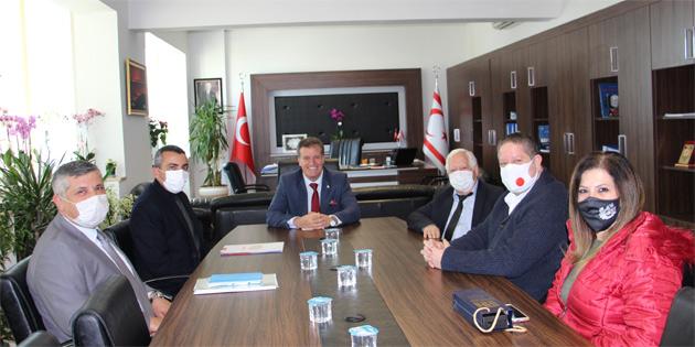 Arıklı Serdaroğlu'nu kabul etti