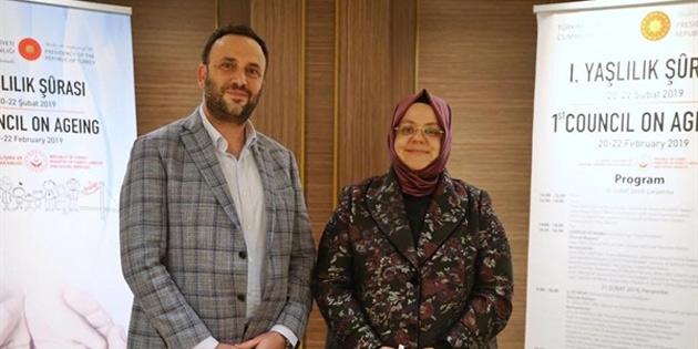Bakan Çeler Ankara'da Aile Çalışma ve Sosyal Hizmetler Bakanı Selçuk ile biraraya geldi