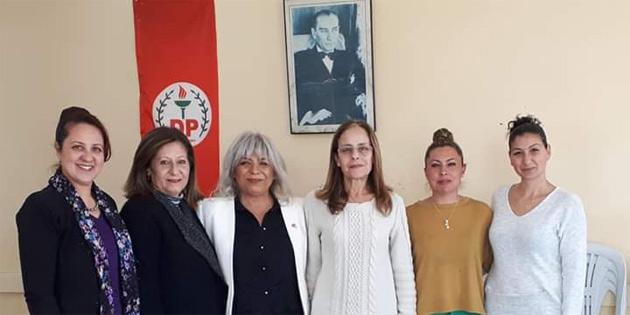 DP Merkez Kadın Örgütü Balıkesir ve Değirmenlik muhtarını ziyaret etti