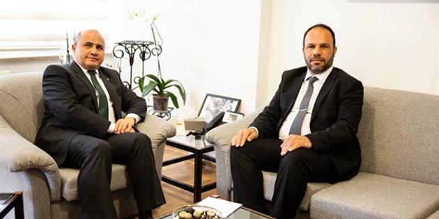 Büyükelçi Başçeri Sadıkoğlu'nu kabul etti