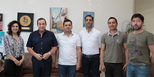 """Serdar Denktaş'tan""""Maliye Bakanlığı olarak veda, muhalefet parti lideri olarak merhaba"""" ziyaretleri"""