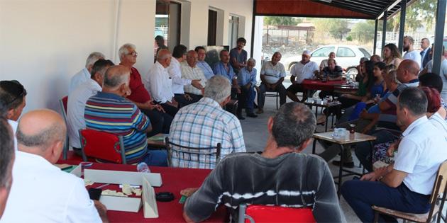 Erhürman İskele'de Civisilli'ye destek belirtti