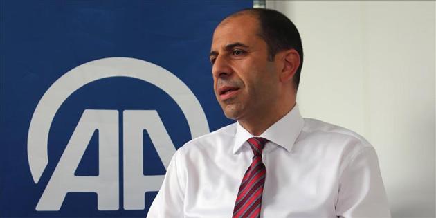 """""""Kıbrıs'ta çözüm konusu uluslararası toplum için samimiyet testi'"""