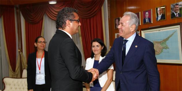 Başbakan Erhürman, İyi Parti Genel Başkan Yardımcısını kabul etti