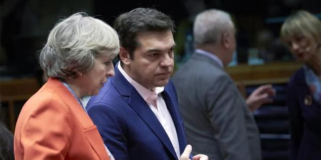 Yunanistan Ba�bakan� Br�ksel temaslar� s�ras�nda garantiler konusunu da g�r��t�