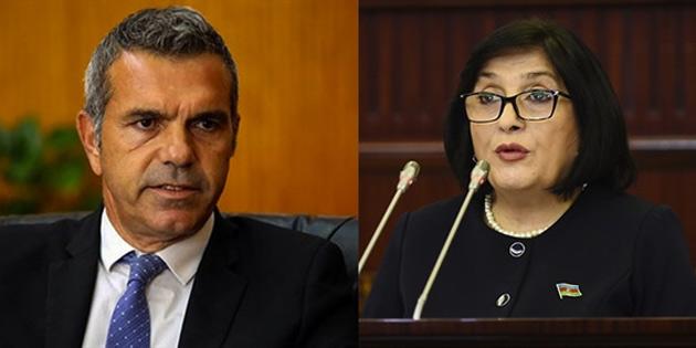 Uluçay, Azerbaycan Milli Meclisi Başkanı Afarova ile telefon görüşmesi yaparak başsağlığı dileklerini iletti