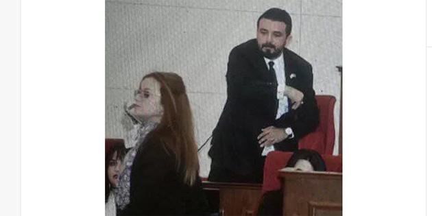 Meclis'te ant içme töreni sırasında gerginlik yaşandı