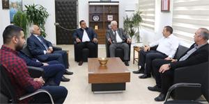 Maliye Bakanı Denktaş, Kıbrıs Türk Futbol Federasyonu ile KKTC Futbol Kulüpler Birliği heyetini kabul etti
