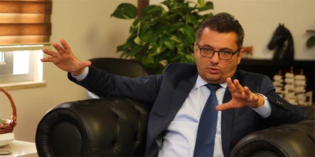 CTP Başkanı Erhürman DAÜ'yü ziyaret etti