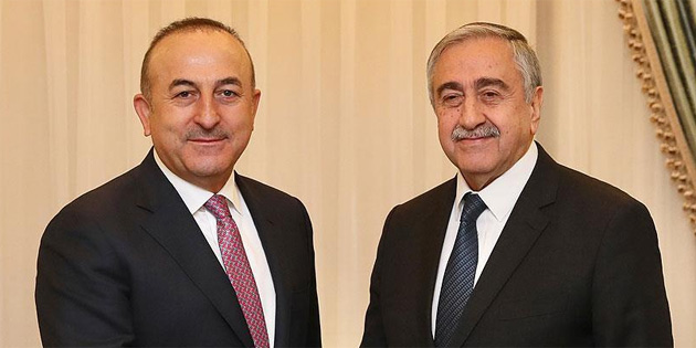 Cumhurbaşkanı Akıncı, New Yorkta Çavuşoğlu'nu kabul edecek
