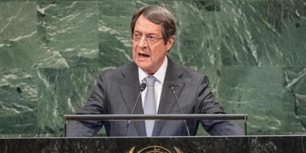 Anastasiadis BM özel oturumunda konuştu ve Türkiye'yi eleştirdi