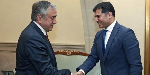 Cumhurbaşkanı Akıncı, yarın Özgürgün'ü kabul edecek