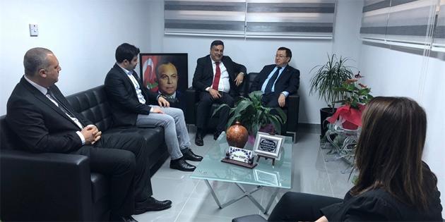 UCLG-MEWA ile KKTC yerel yönetimleri arasındaki ilişkiler daha da güçleniyor