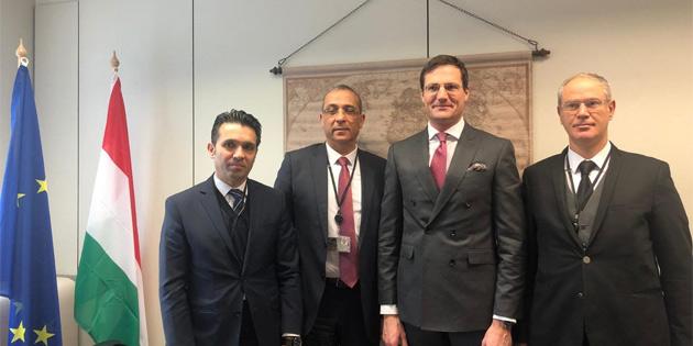 Cumhuriyet Meclisi AP heyeti Brüksel'de temaslarda bulundu