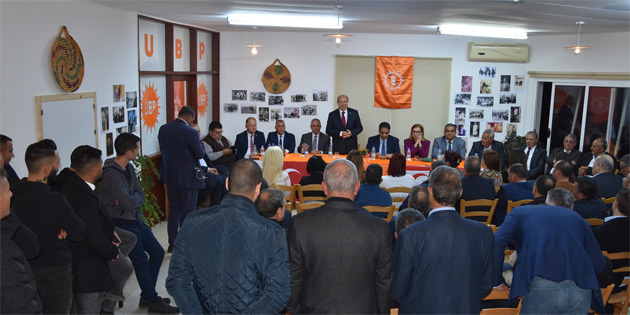 """Tatar: """"Alt yapısı tamam ekonomisi kalkınmış bir KKTC için varız"""""""