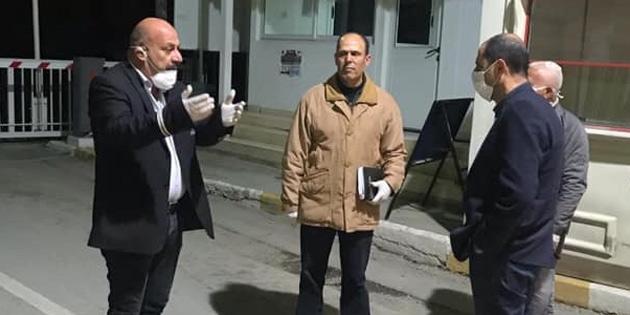 Başbakan Yardımcısı Özersay, Beyarmudu'nda incelemelerde bulundu