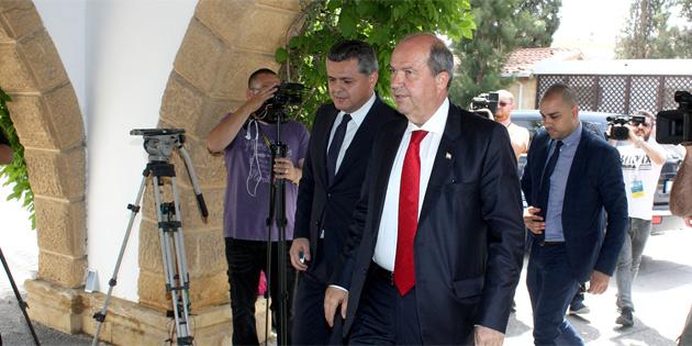"""TATAR İLK İŞ OLARAK """"AYAR"""" VERDİ"""